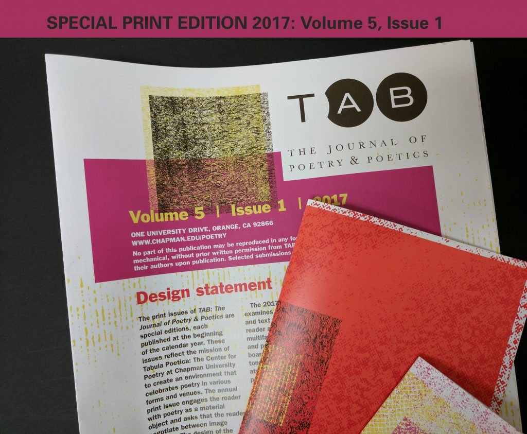 design detail from Volume 5, 2017 print issue