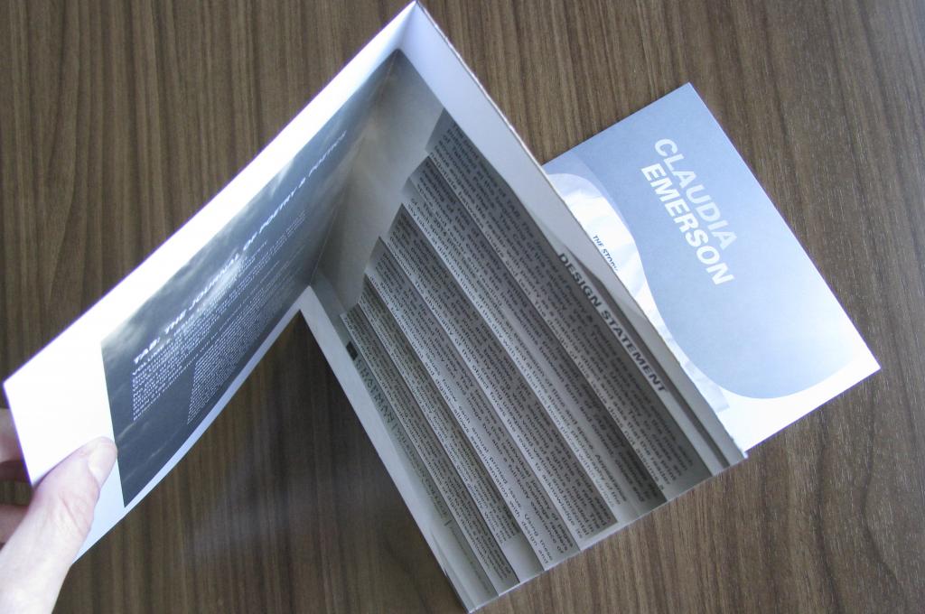 TAB 2014 foldout design
