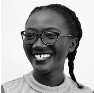 headshot of tryphena yeboah with wide smile